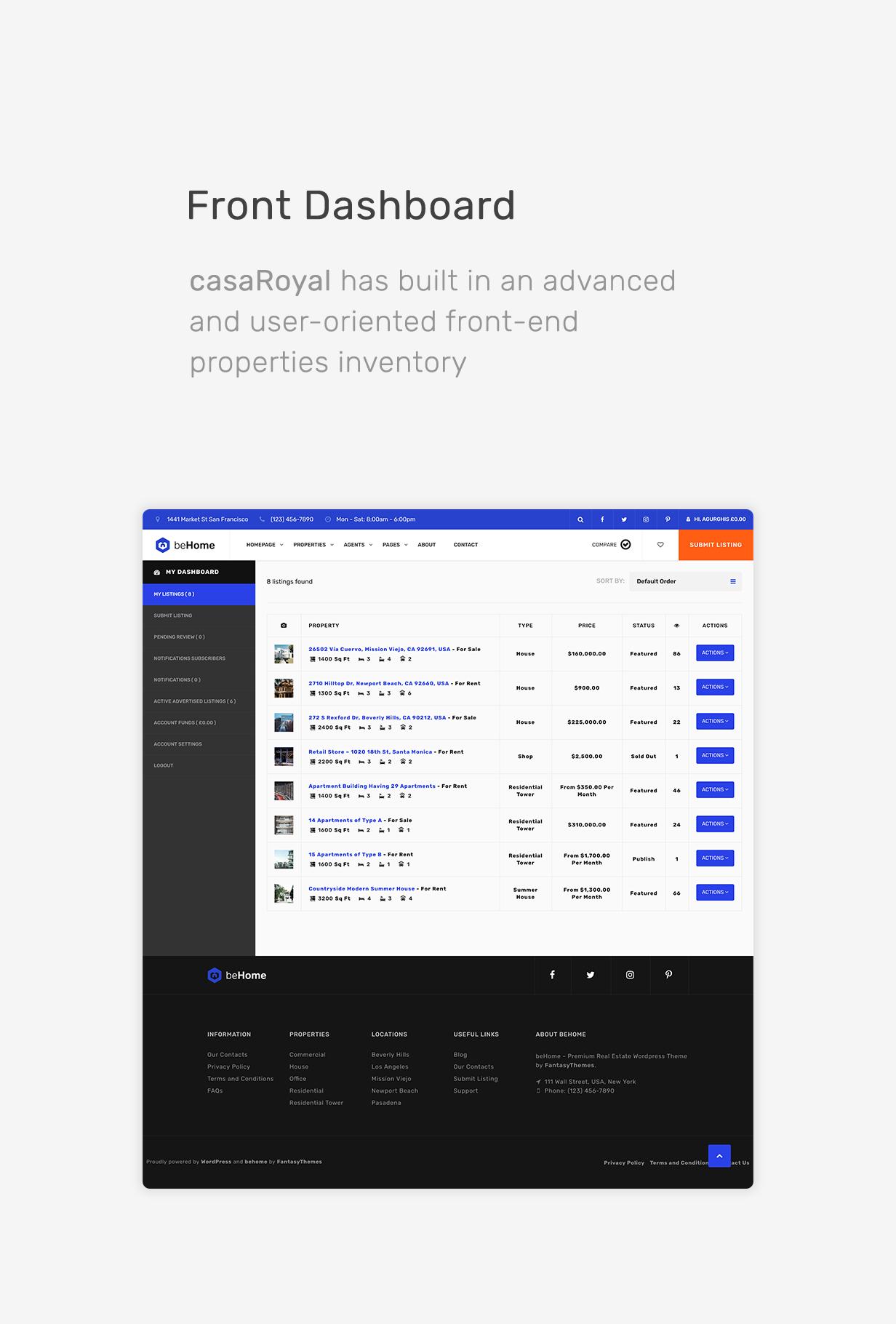 casaRoyal - Real Estate HTML/CSS Template - 3